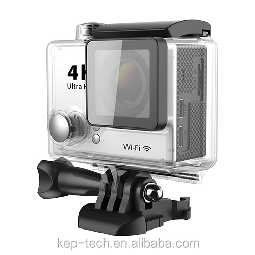 Factory directly selling Action camera rotation recording wifi wireles camera 4K HD sport action camera