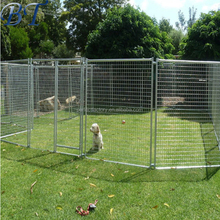 Welded type 6ftx10FT outdoor portable dog run fence/dog cage with high quality