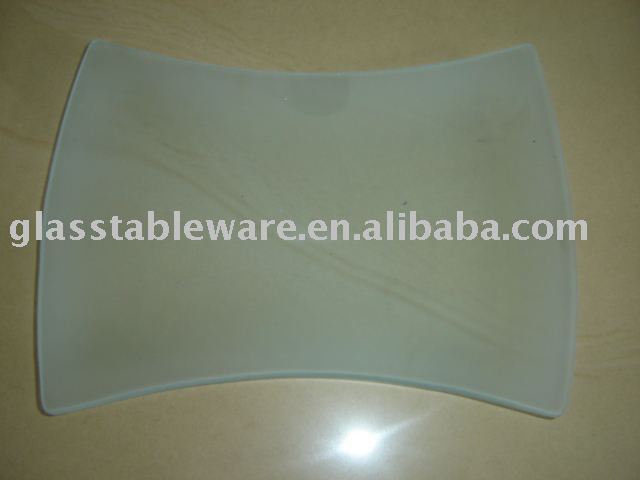 tempered frosted glass plate