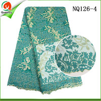 lace fabric market in guangzhou wholesale embroidered french net lace fabrics from india