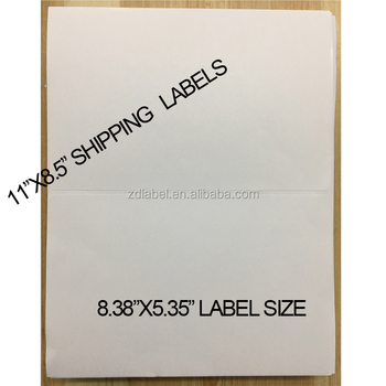 "8.38""x5.35"" Internet Express Shipping Labels for laser Printer"