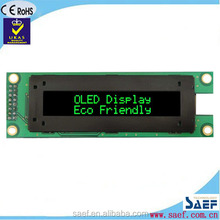 20 x 2 oled display with green lines character lcd