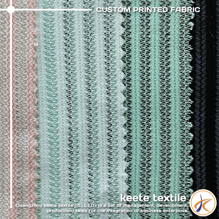 (C15)100%Polyester colorfully mesh hot selling knitting fabric