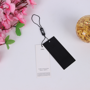 Hang paper tag for cloth price tag