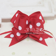 Newest Red Grosgrain Butterfly Pull Bow P1018492 For Gift Wrap