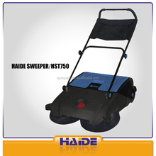 Industrial hand push mechanical roller brush manual floor sweeper
