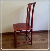 antique chinese style wooden back chair