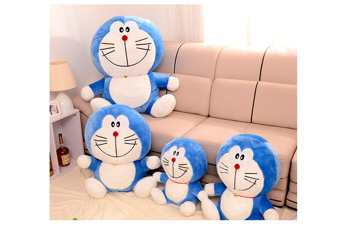 different sizes cute doraemon stuffed toy for birthday gift