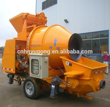 YG electric motor and diesel concrete mixer pump mixing Lowest Price
