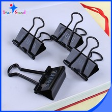 Black color u shape binder clip paper fastener