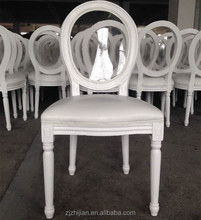Cheap vintage french oak furniture shabby chair ghost chairs Solid dining chair