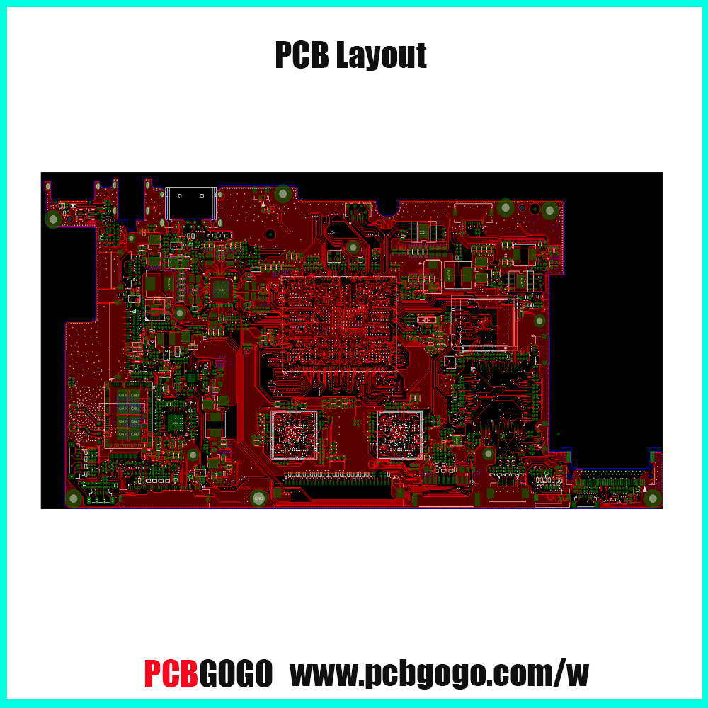 International PCB design software for electronic products layout/designing service