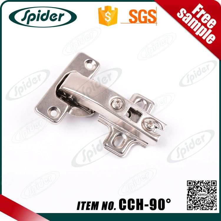 90 degree damping heavy duty glass door concealed hinge