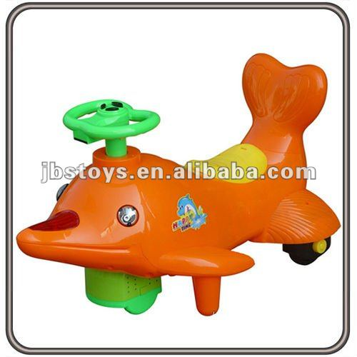 Children Battery Operated Ride-on Dolphin Plastic Toy