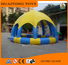Can Customized Giant Inflatable Party Tent swimming pool cover tent For Sale
