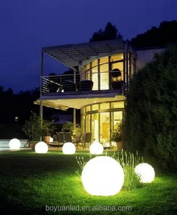 beautiful rechargeable floating led pool light, RGB 16 colours changing led ball lights