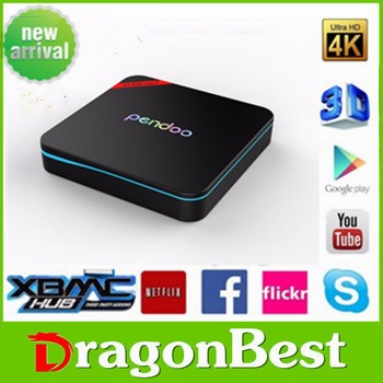 iptv set top box tv channels home smart Pendoo X8 Pro+ 2g 16g quad core android 6.0 tv box