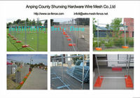 ISO9001 Anping zhenhong factory Hot sale temporary fence in US., Europe, Australia, Canada