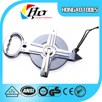 Metal Case PVC Blade Promotion Fiberglass Tape Measure