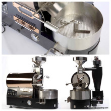 hot sale automatic electric or gas heating hot air drum cocoa/coffee beans roaster machine 1kg,BK-1kg