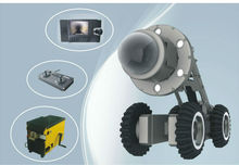 Sewer inspection robotic camera system