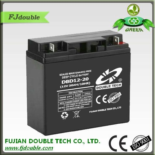 maintenance free exide 12v 20ah battery deep cycle storage batteries