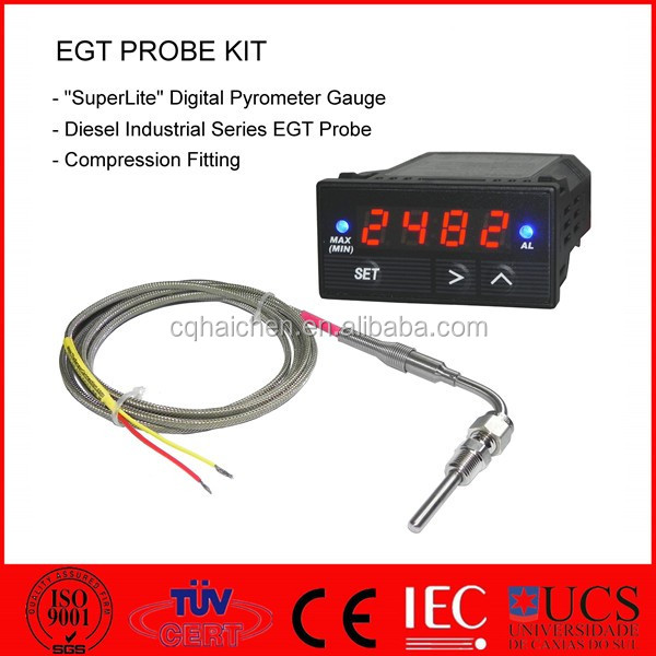 egt thermocouple temperature sensor,egt intelligent pyrometer gauge
