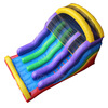 channal inflatable dry slide/commercial PVC inflatable slide for sale