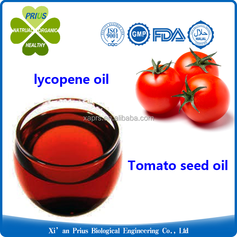 Prius supply Natural 5% 10% 20% lycopene oil edible tomato seed oil in bulk