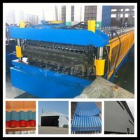 corrugated aluminum sheet roll former for roof, designer tile making machinery