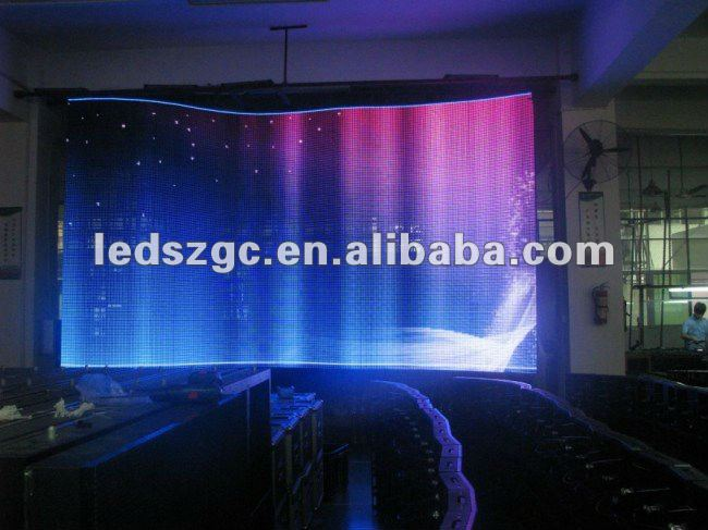 2015 New creative idea P16 outdoor led curtain