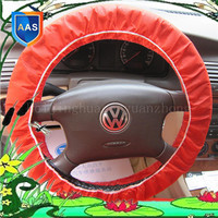 great price quality transparent pe car steering wheel cover