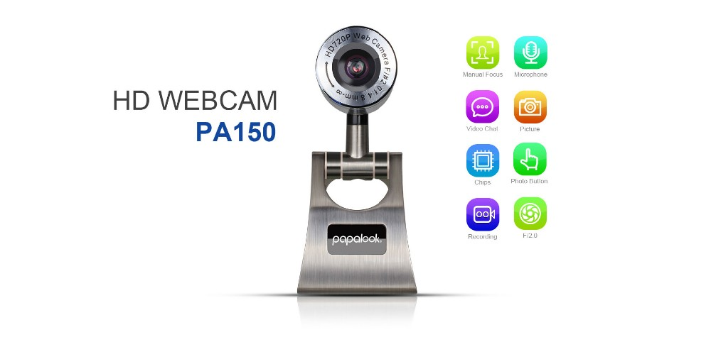 hd webcam web camera for pc laptop, pc camera computer webcam with high-resolution