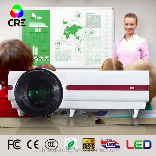 CRE X1500NX high quality hd projector 1080p native resolution