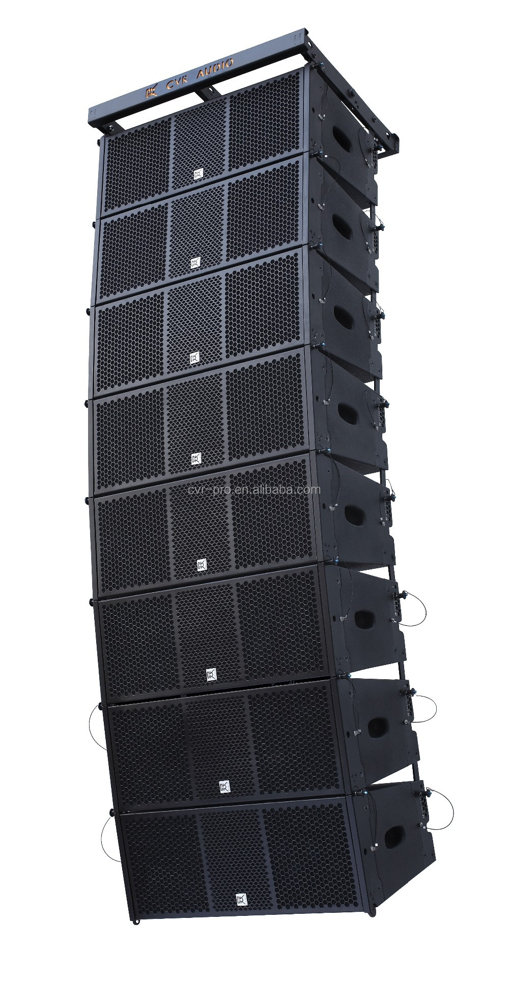 Powered Dual 10 inch Line Array Speaker Active W-210BP