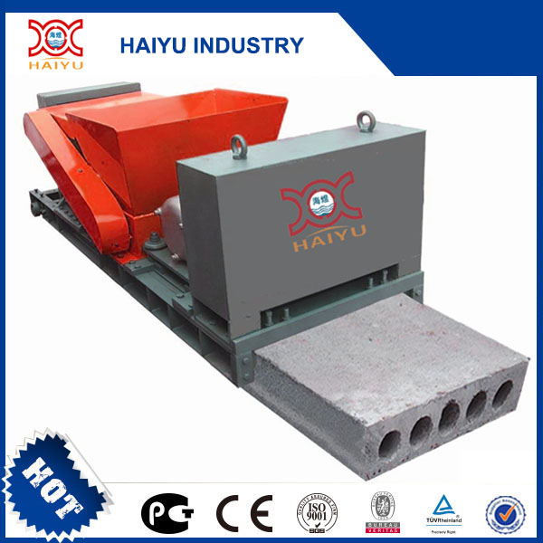 prestressed precast concrete hollow wall panel forming machine for boundary