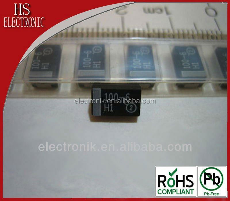 kemet 15volts 10uF 10% Solid SMD Capacitor T409F106K015CC