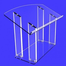 High Quality Tabletop Custom Acrylic Podium Pulpit Lectern