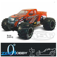 RC CAR HSP SHELETON 1/5 GAS TRUCK 30CC ENGINE BIG FOOT MONSTER (item no. 94050)