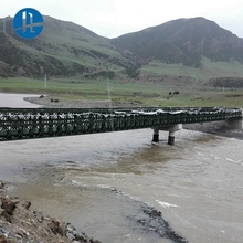 Alibaba export High-end produce bailey bridge structural steel military bridge