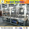 Glass with Coffee filling machine/washing filling and capping