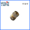 equal straight gas brass pipe fitting for pex al pex pipe
