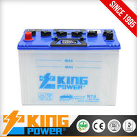 Super heavy duty car batteries 12 volt 70 ah