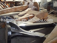 (LR, ABS, DNV, GL, NK, RS, KR, IRS, CCS Cert.)Casting/Carbon Steel High Holding Power Marine Anchor