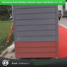 Wood Grain Cement Siding Panel Wall Building Material