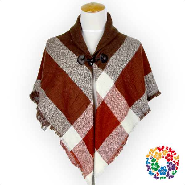 New Fashion Women Shawls Plaid Pattern Soft Ponchos Lady Winter Wraps And Shawls