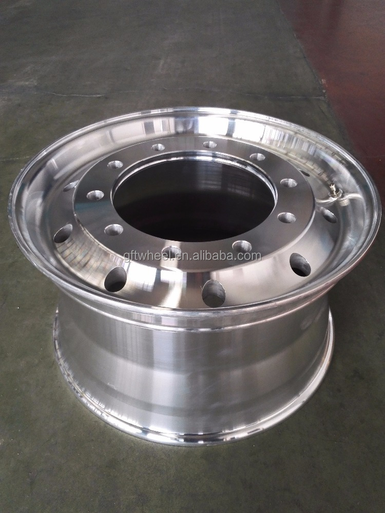China Trailer Parts forged 9.00*22.5 Semi Truck Rim in Truck Wheel