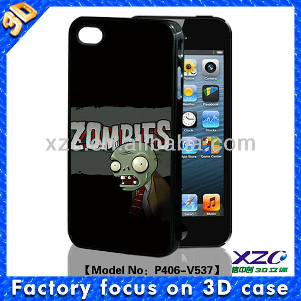 wholesale for iphone 4 custom back covers case with 3D image