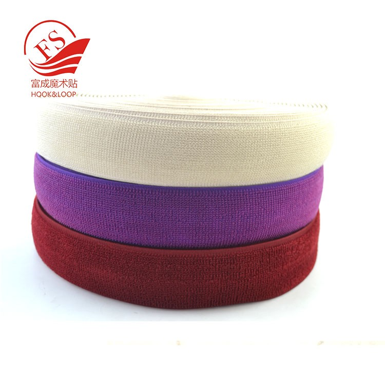 New design colorful magic tape raw material Elastic loop bandage for sport knee pad