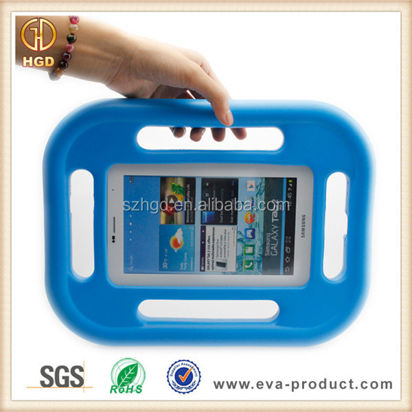 Steering wheel design kids shockproof silicone case for 7 inch pc tablet